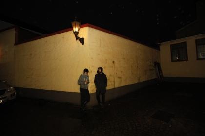 Benedikte och Pontus foto: Gunnar H Stening
